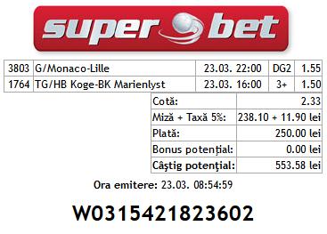 Bilete Vip Hunter 23.03.2014