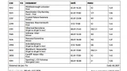 Bilet Saptamanal 31.12.2016 - cota 66