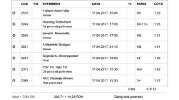 Biletul Zilei 17.05.2017 - cota 10