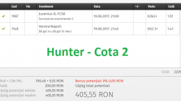 hunter cota 2