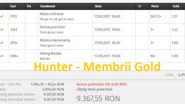 bilete gold hunter