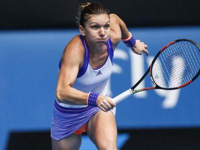 Pontul zilei din tenis Simona Halep vs Maria Sharapova 04.10. 2017