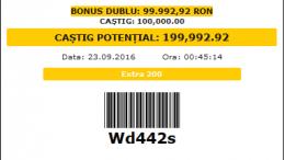 Am facut la Fortuna un bilet de 2 miliarde lei (vechi) din meciurile pentru week-end