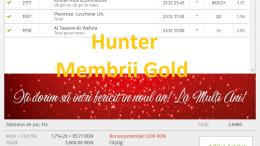 Bilete Gold Castigatoare in ultimele zile