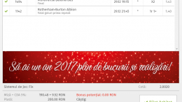 Biletul Zilei 29.12.2016 - Cota 2