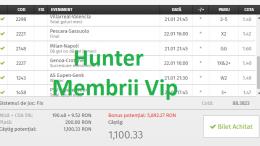 Bilete Vip - Pariu Sansa - postate gratis si pe site