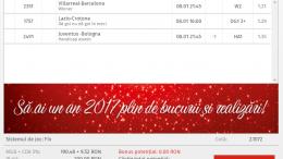 Biletul Zilei 08.01.2017 - Cota 2