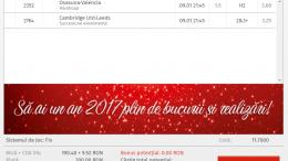 Biletul Zilei 09.01.2017 - cota 11