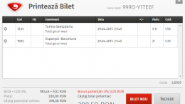 Biletul Zilei Fotbal 29.04.2017 - Cota 2