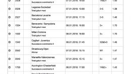 Bilet Week-End Pariuri 04.01.2018 - cota 97