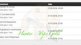 Bilet Hunter cu castig 1.720 lei - 01.11.2018