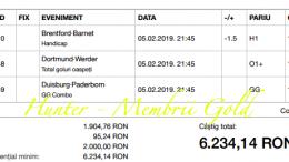 Castig 17.607 ieri in zona Gold cu cele 3 bilete verzi