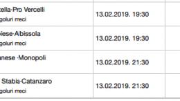 20 ponturi fotbal 13.02.2019 pentru biletul zilei