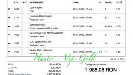 hunter vip gold hunter