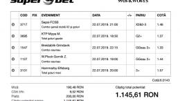 Biletul Zilei Pariuri 22.07.2019 - cota 5