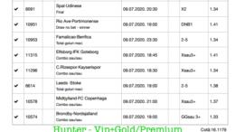 Bilet Vip+Gold/Premium cu castig 3647 lei - 10.07.2020
