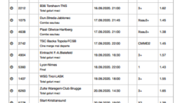 Bilet Saptamanal 15.09.2020 - posibil castig 82838 lei