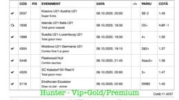 Bilet Vip+Gold/Premium cu castig 1084 lei