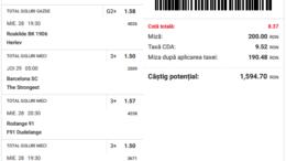 Biletul Zilei Pariuri 28.04.2021 - cota 10